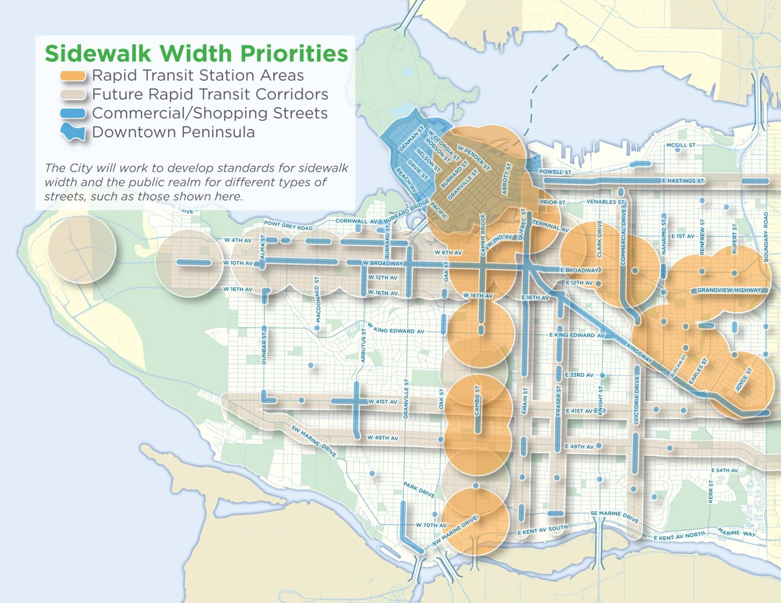 Vancouvers Transportation Plan What Are They NOT Telling Us - Image of us map at 2040