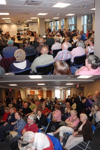 Standing room only at Ridge DPB Hearing Oct 9