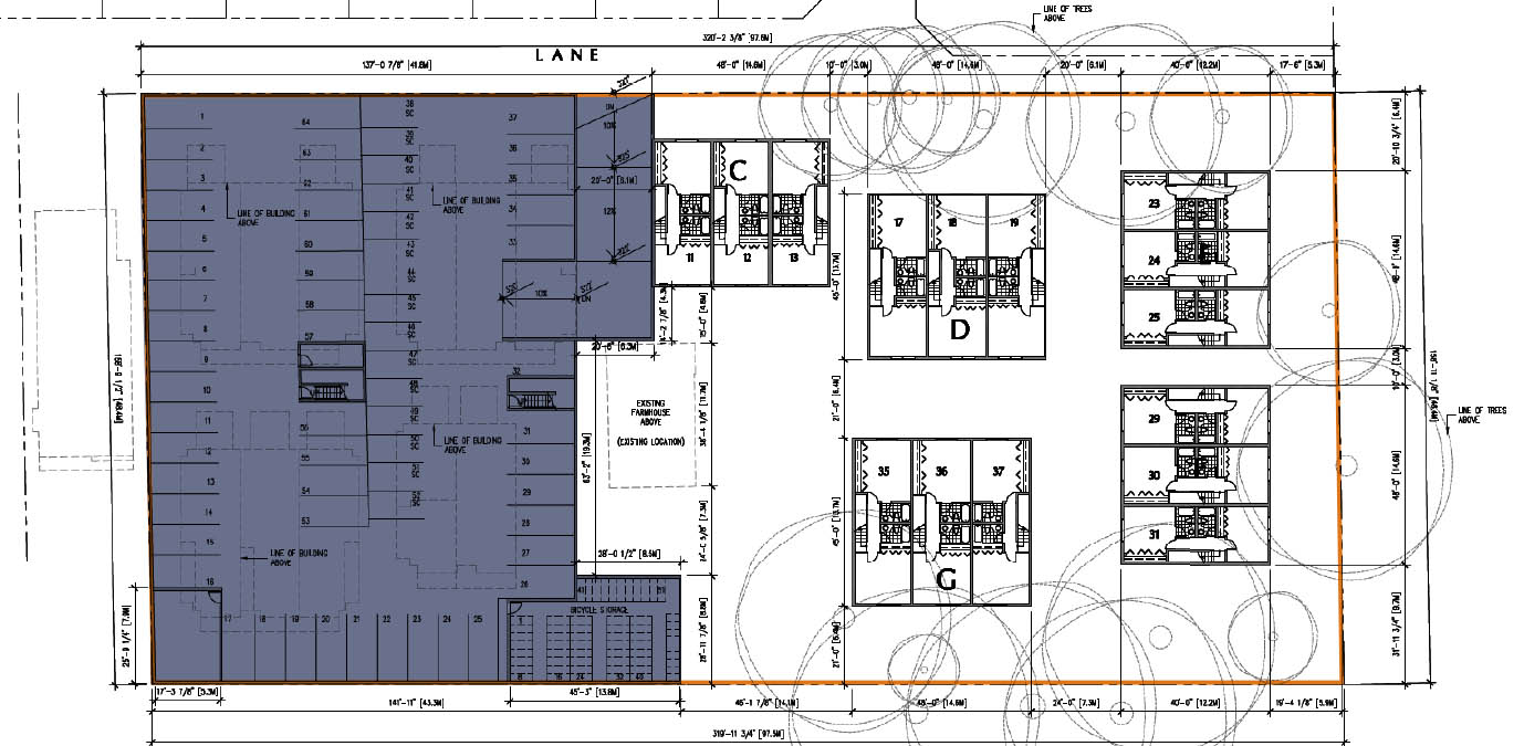 Open house for 52 unit avalon dairy redevelopment on nov 7 for Stacked townhouse floor plans
