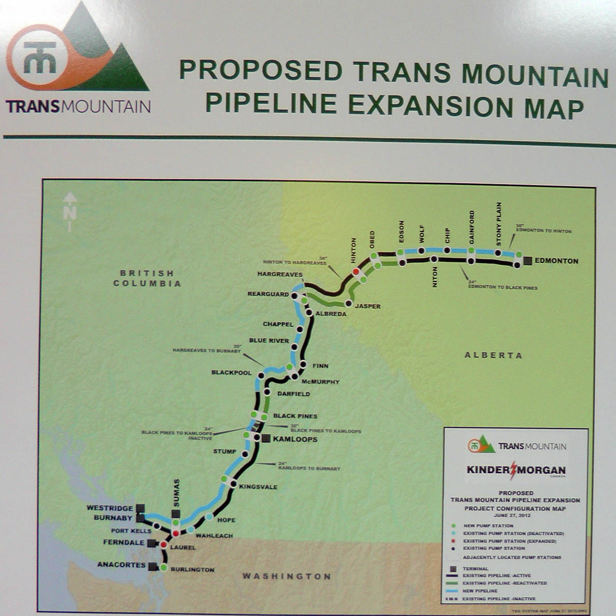 Reflections On Kinder Morgan Trans Mountain Pipeline