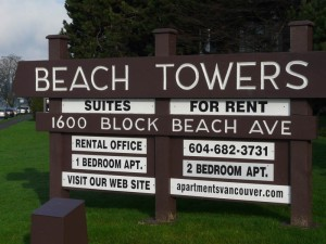 Beach Towers Rental