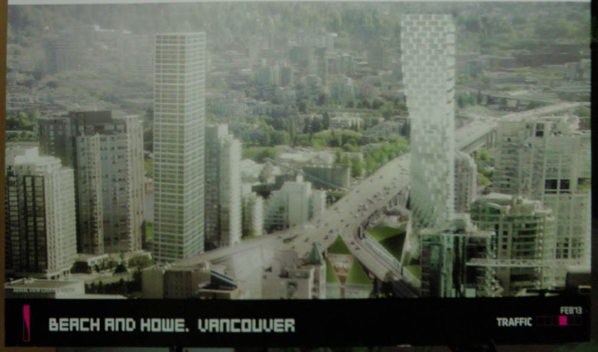 East Tower Rendering Granville Bridge
