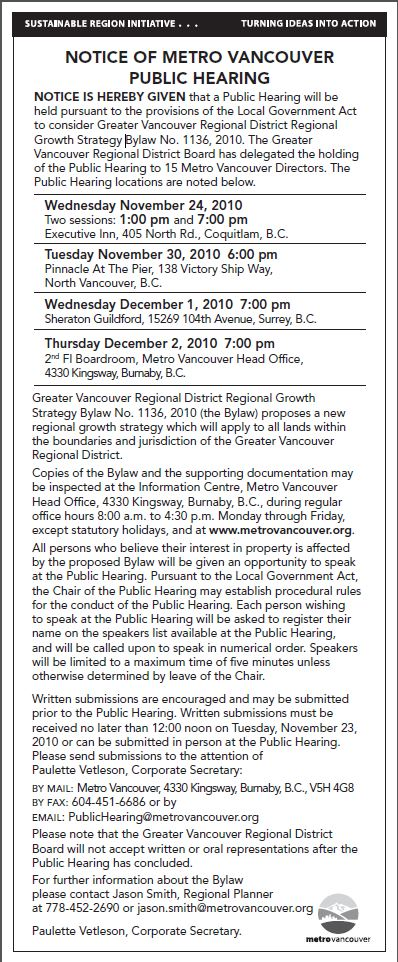 RGS public hearing notice Nov-2010