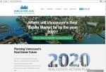 Vancouver 2020 Real Estate Action Plan website top page