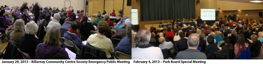 Public Meetings at CCA, Park Board