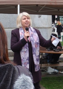 Vancouver Councillor Adriane Carr
