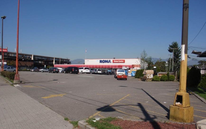 Large sites Rona
