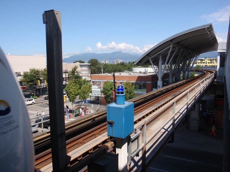 Commercial Drive Station Platform