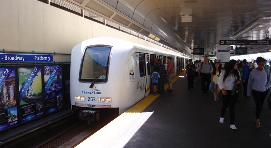 Expo Line / Commercial-Broadway Station