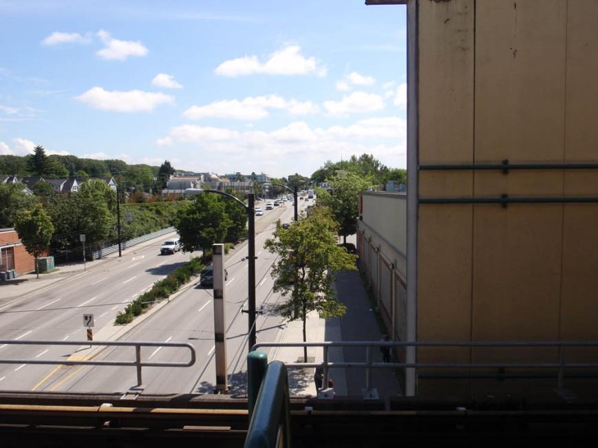 Expo Line Platform and Safeway