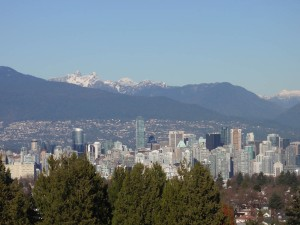 Vancouver from Queen Elizabeth Park viewing area