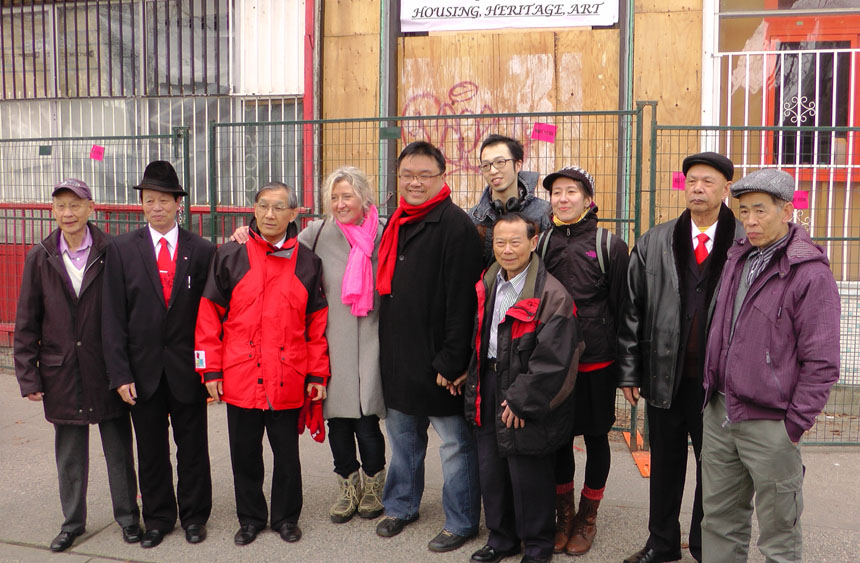 Ming Sun and organizers