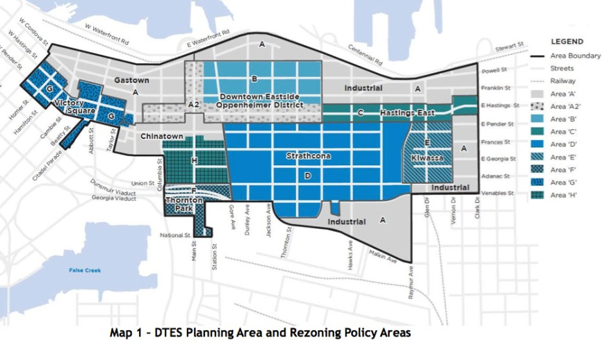DTES LAP Map1