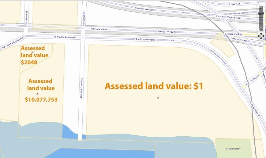 Concord land values