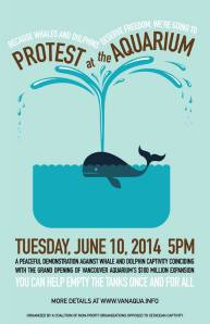 Protest at the Aquarium June 10