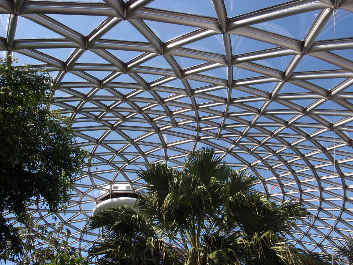 New Roof At Bloedel Conservatory Crystal Clear Stunning