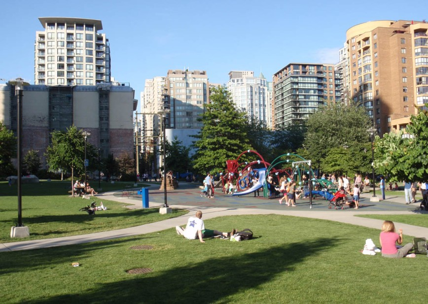 Emery Barnes Park, New Yaletown