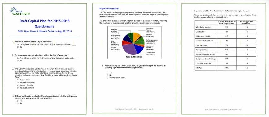 Capital Plan 2015-2018 survey PDF
