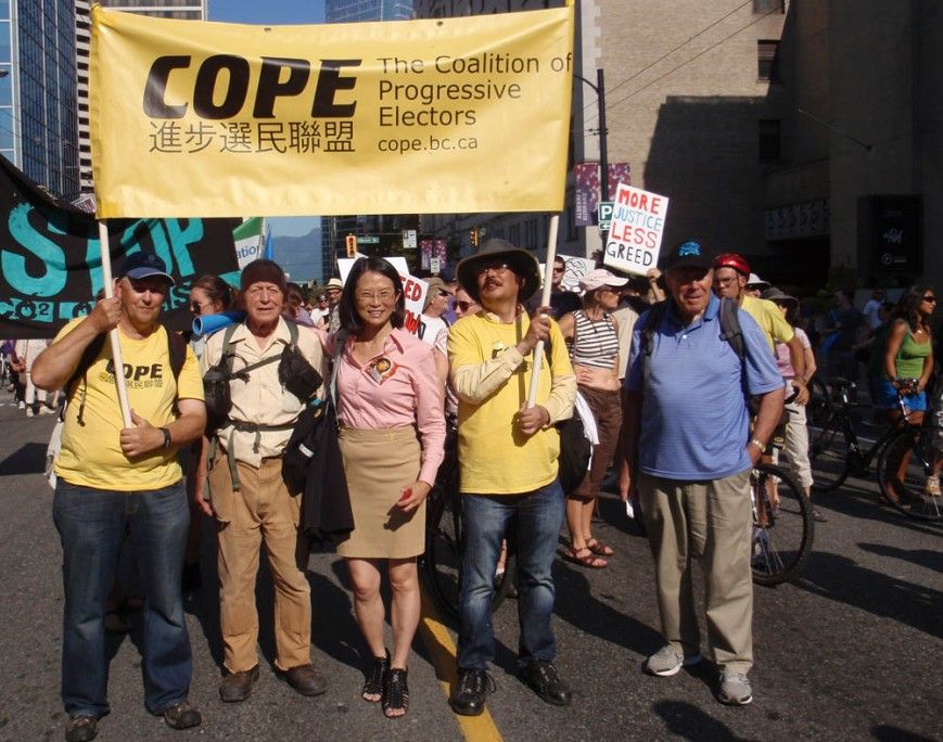 COPE at climate change march