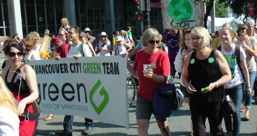 climate march Greens