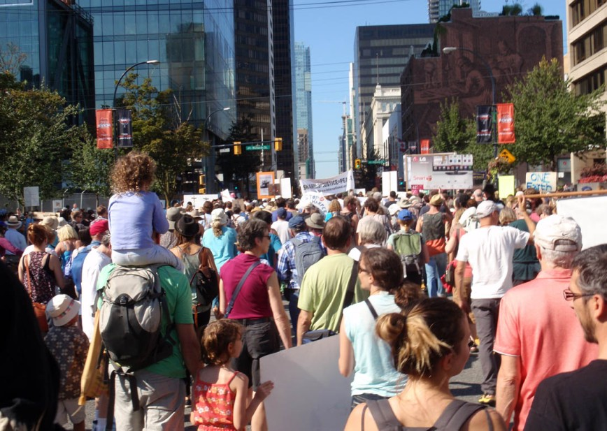 Climate Change march downtown