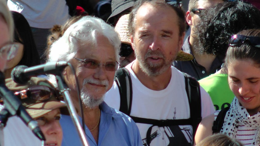climate rally David Suzuki