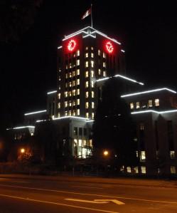 night at City Hall