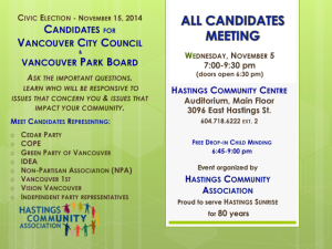 hastings CC candidates mtg 5-Nov-2014 poster