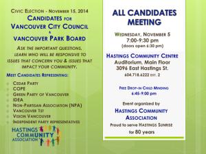 hastings CC candidates mtg 5-Nov-2014 poster