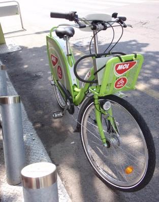 Bike off stand