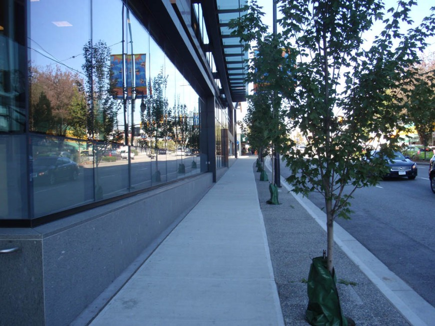 Marpole Safeway frontage on Granville Street