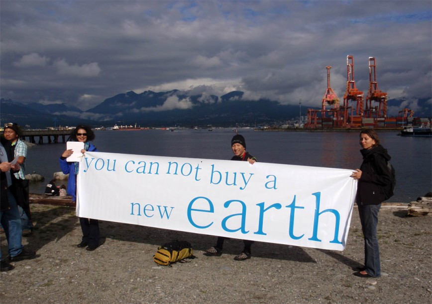 You cannot buy a new earth