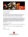 Vancouver Firefighters open letter to citizens Oct 2014