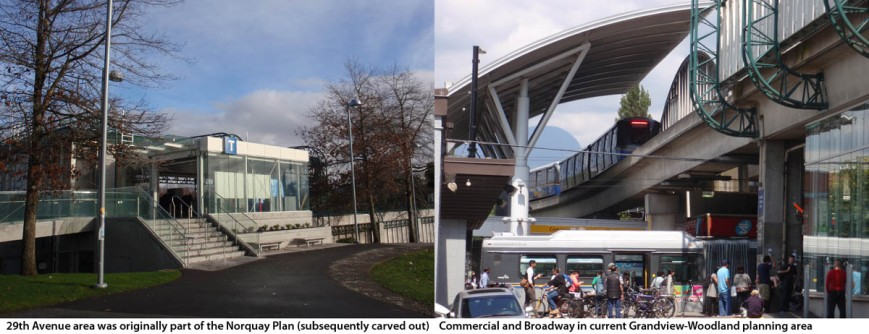 Norquay vs. Grandview-Woodland Plan Skytrain