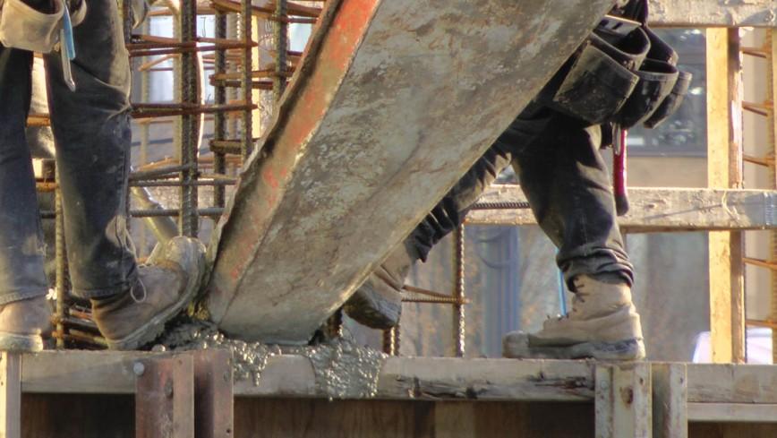 Brenhill pouring concrete
