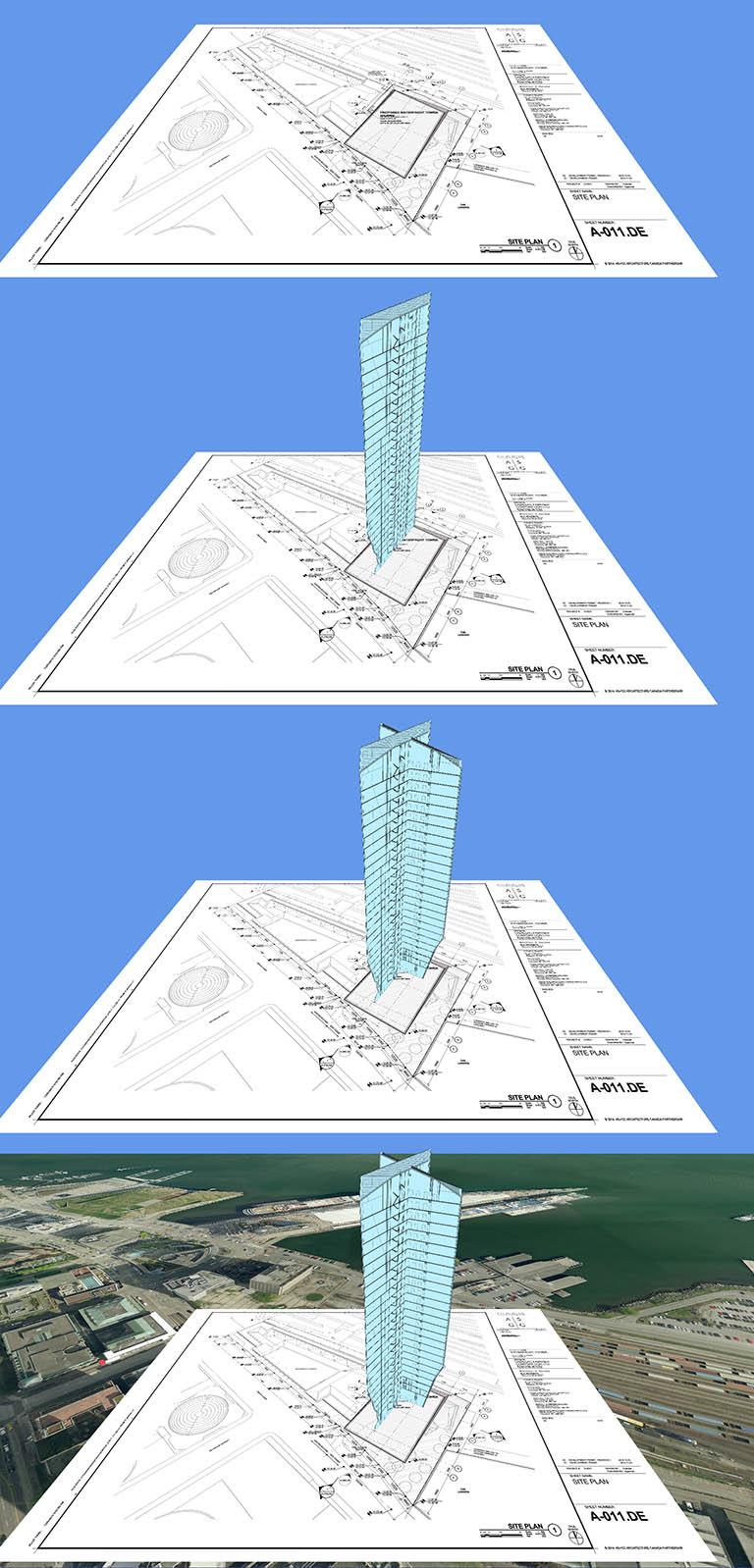 Drawings overlay steps