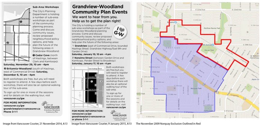 Grandview Woodland subareas vs. Norquay carve out