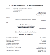 Vancouver City Hall is trying to understate and downplay the contents of this Supreme Court ruling. And use taxpayers' own money to fight it.