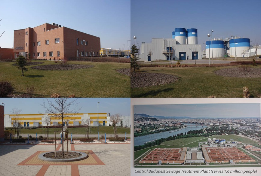 Central Budapest Sewage Treatment Plant