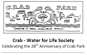 CRAB Park Water for Life Society logo