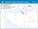 Taxpayer-subsidized STIR and Rental 100 units, as of Feb 2014