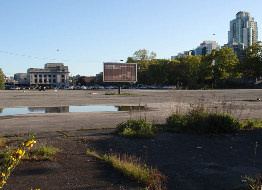 Site of Future St. Paul's Hospital on False Creek Flats