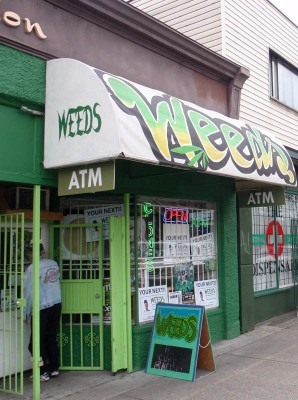 Weeds marijuana shop