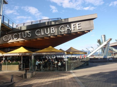 Cactus Club Cafe on Jack Poole Plaza