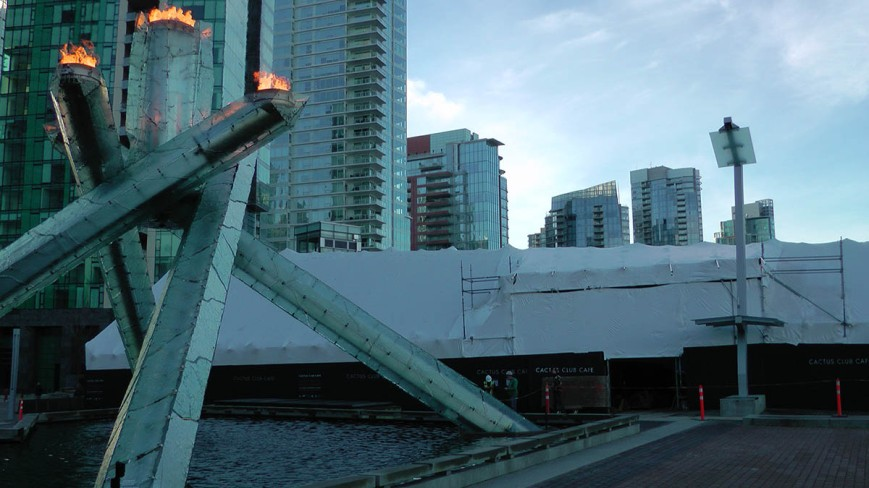 Nearby Coal Harbour Cactus Club opened in 2013