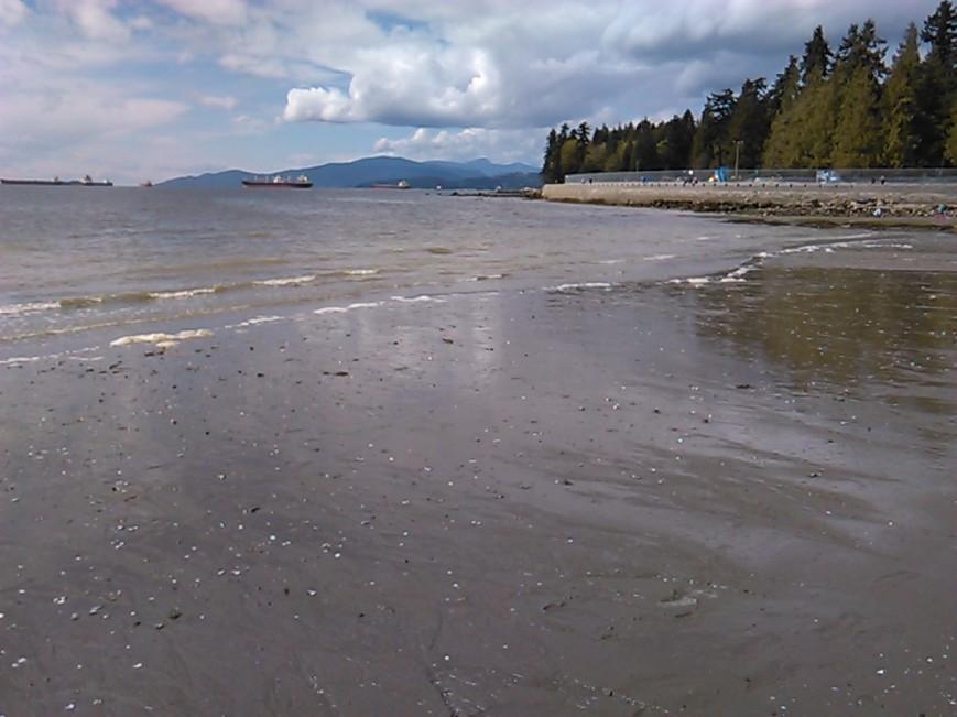 Second Beach spill