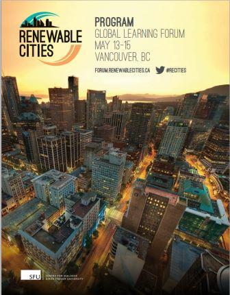 Renewable Cities program cover 13-15May-2015