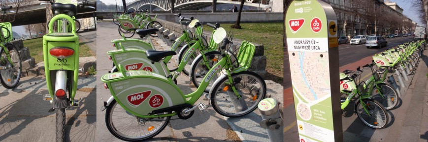 PBS supplied by nextbike in Budapest, Hungary