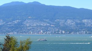 English Bay with boat, music petition July 2015