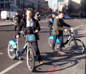 London bike share